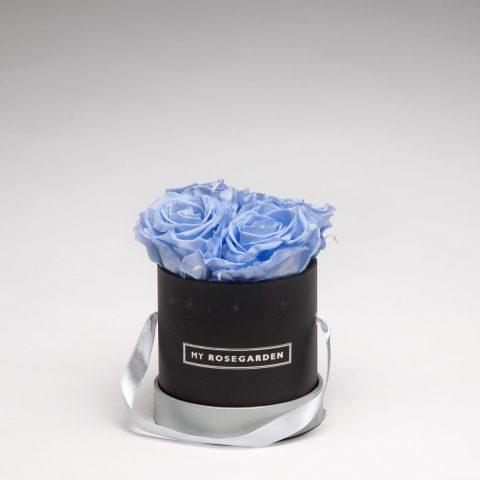 Rosenbox rund 4 Rosen